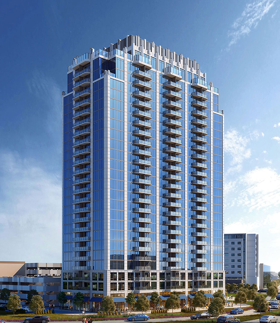 New Condos And Apartments Rise Up Around: Mixed-Use Real Estate Development